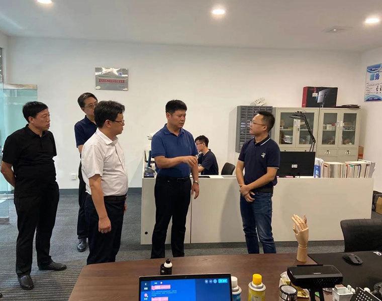 阳泉市科技局领导到我山东商会会员企业考察调研
